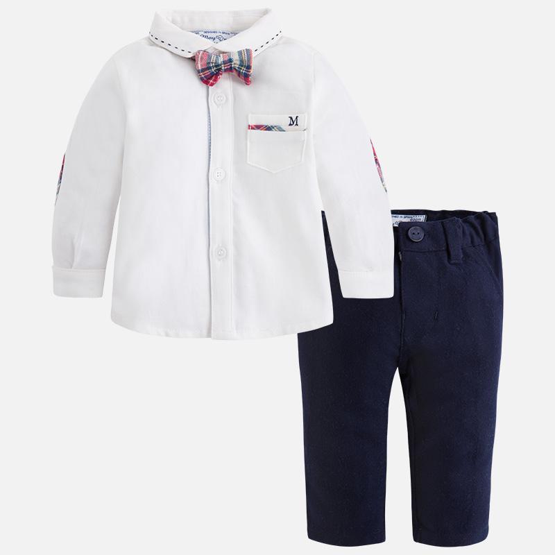 8e71dc94123 Conjunto de bebé niño con pantalón